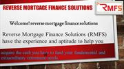 Reverse Mortgages Broker, Advisers in Australia - RMFS