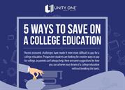 How to  Save on College Education