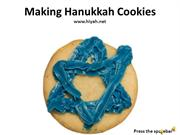 Making Hanukkah Cookies and Gingerbread House