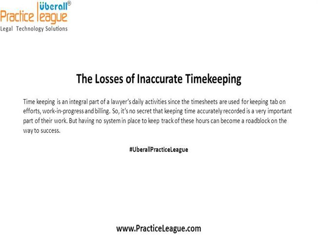 The Losses Of Inaccurate Timekeeping AuthorSTREAM - Timekeeping and invoicing software