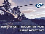 Denis vincent Helicopter Pilot