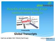 Benefits of Outsourcing Prior Authorization Services