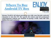Most Powerful Android Tv Box