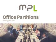 Office Partitions | Commercial Refurbishment | MPL Interiors