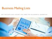 Business Mailing Lists