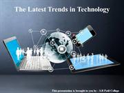 The Latest Trends in Technology