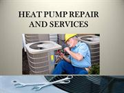 HEAT PUMP REPAIR AND SERVICES