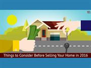 Things to be consider before you selling home in 2016