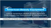 American Beauty Equipment PPT