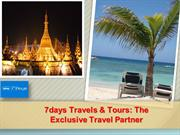 7days Travels & Tours The Exclusive Travel Partner