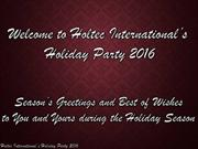 2016 Company Holiday Party Slideshow FINAL