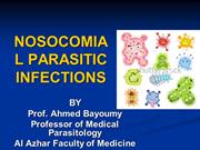 NOSOCOMIAL PARASITIC INFECTIONS