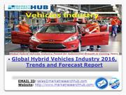 Global Hybrid Vehicles Industry 2016, Trends and Forecast Report