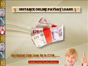 Payday Loans and Payday Advance