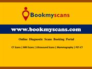 BookMyScans: Ct scan centres MRI scan centres, Ultrasound scan