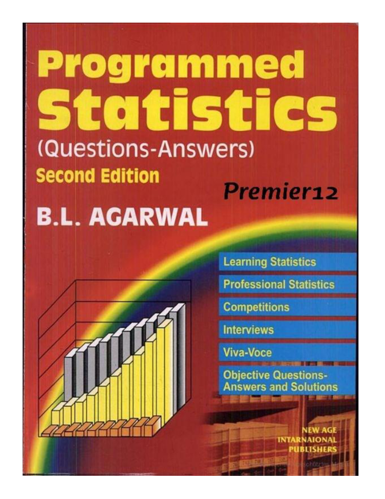 Programmed Statistics by B L  Agarwal |authorSTREAM