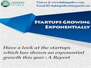 Startups : Growing Exponentially - Startup In India