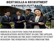William Almonte - Best skills a recruitment manager must have