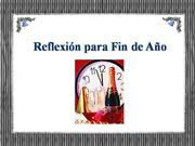 REFLEXION DE FIN DE AO