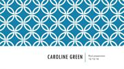 Caroline Green spa 101 finALL