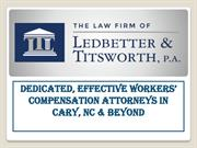 Cary's Premier Denied Workers' Compensation Claims Law Firm