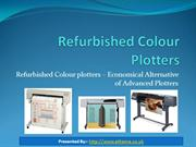 Advanced Refurbished Colour Plotters Online In UK