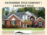Nationwide Title Company at Carteret Title