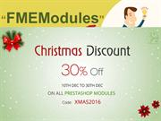 Christmas Sales Offer 2016 for PrestaShop Modules