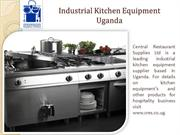 Commercial Kitchen Equipment Uganda