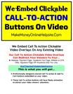 How To Embed Call To Action Clickable Buttons On Video