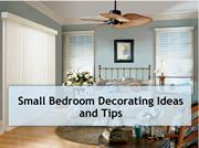 Small Bedroom Decorating Ideas and Tips