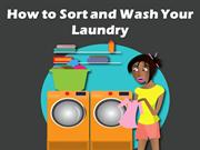 How to Sort and Wash Your Laundry