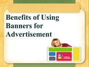 Benefits of Using Banners for Advertising