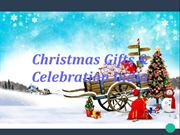 Christmas Gifts & Celebration in india