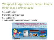 Whirpool Fridge Service Repair Center Hyderabad Secunderabad-1