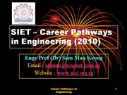 Career Pathways in Engineering-2010