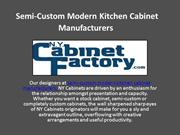 Semi-Custom Modern Kitchen Cabinet Manufacturers