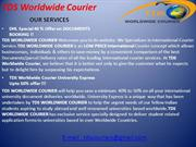 #Dhl courier services - courier to #USA, Delhi, canada