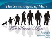 Seven ages of life R