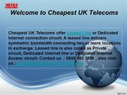 Cheapest Telecom in UK