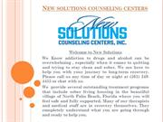 Alcohol and Drug Addiction Treatment Center  New Solutions Counseling