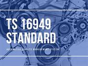 TS 16949 Standard requirements for firm