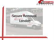Removal London | Secure Removal