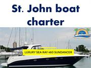 Spend the day with St. John boat charter
