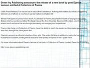 Green Ivy Publishing announces the release of a new book