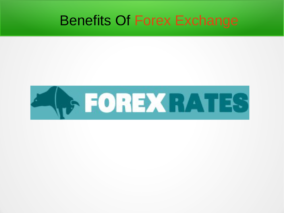 Forex card benefits