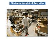 Distribution Specialist Job Description