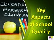 Key Aspects of a Quality School -The Paras World School