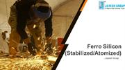 Ferro Silicon (Stabilised) - Jayesh Group