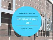 hospitals email list |hospitals mailing lists